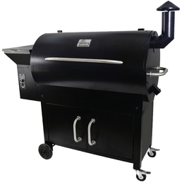 Pelletsmoker »Indiana«, Grillrost BxT: 86 x 49 cm, emaillierter Stahl, inkl. Thermometer