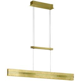 Pendelleuchte goldfarben 14,5 W, 2-flammig, dimmbar, inkl. Leuchtmittel in warmweiß