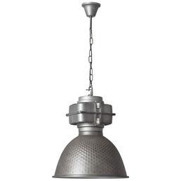 BRILLIANT Pendelleuchte »Mallet« stahlgrau/metallfarbend 60 W, E27, dimmbar, ohne Leuchtmittel