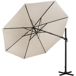 CASAYA Pendelschirm »Paros«, BxH: 300 x 255 cm, Sonnenschutzfaktor: 80+