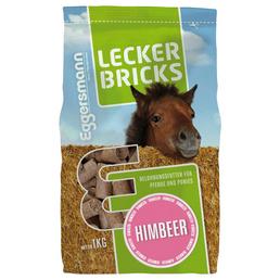 EGGERSMANN Pferde-Snacks »Lecker Bricks«, 1 kg, Himbeer