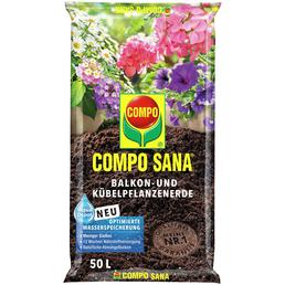 COMPO Pflanzenerde, 50 l, geeignet für: Balkon und Kübelpflanzen