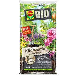 Pflanzenerde »COMPO BIO«, für Balkon- und Kübelpflanzen, torffrei