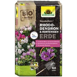 NEUDORFF Pflanzerde »NeudoHum«, für Rhododendron, Hortensien, Moorbeetpflanzen, torffrei