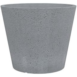 SCHEURICH Pflanzgefäß »C-CONE«, Kunststoff, grau, konisch/rund