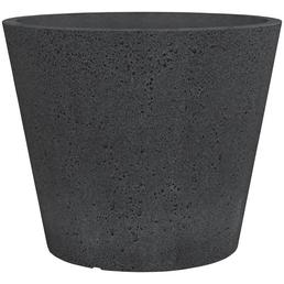 SCHEURICH Pflanzgefäß »C-CONE«, ØxH: 38,9 x 33,2 cm, schwarz