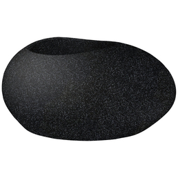 SCHEURICH Pflanzgefäß »FLOW«, ØxH: 48 x 23,1 cm, schwarz