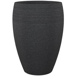 Pflanzgefäß »LINEO HIGH«, ØxH: 47 x 64,8 cm, schwarz