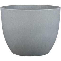 Pflanzgefäß »PALERMO«, ØxH: 50 x 38,5 cm, grau