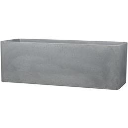 CASAYA Pflanzgefäß »QUADRO BOX«, BxHxT: 80 x 29 x 29 cm, grau