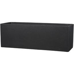 CASAYA Pflanzgefäß »QUADRO BOX«, BxHxT: 80 x 29 x 29 cm, schwarz
