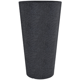 CASAYA Pflanzgefäß »SORRENTO HIGH«, ØxH: 28,5 x 55 cm, schwarz