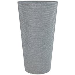 Pflanzgefäß »SORRENTO HIGH«, ØxH: 39 x 70 cm, grau