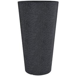 CASAYA Pflanzgefäß »SORRENTO HIGH«, ØxH: 39 x 70 cm, schwarz