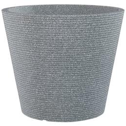 CASAYA Pflanzgefäß »SORRENTO«, ØxH: 38,9 x 33,2 cm, grau