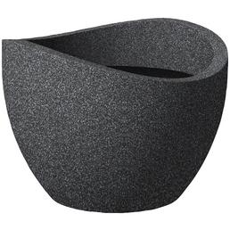 SCHEURICH Pflanzgefäß »WAVE GLOBE«, ØxH: 60 x 44,7 cm, schwarz