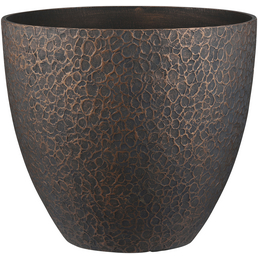 mica® decorations Pflanzkübel »Bravo«, ØxH: 45 x 39,5 cm, kupferfarben, Kunststoff