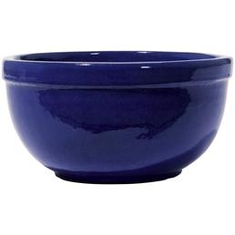 Kirschke Pflanzschale »Löhne«, Steinzeug, blau, rund