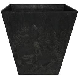 ARTSTONE Pflanztopf »Artstone«, BxH: 20 x 20 cm, schwarz, Kunststoff