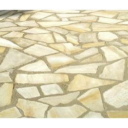 MR. GARDENER Pflasterstein »Yellow Sun«, aus Naturstein, glasiert, Kanten: gebrochen