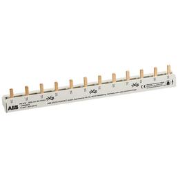 ABB Phasenschiene, 63 A, Grau, Universal-Stiftschiene, 3-polig