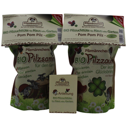 Pilzanzuchtset »Pilzzuchttüte Bio Pom Pom«
