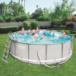 BESTWAY Pool-Set »Power Steel«, Ø x H: 427 cm x 122 cm