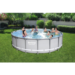 BESTWAY Pool-Set »Power Steel«, Ø x H: 488 cm x 122 cm