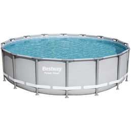 BESTWAY Pool-Set »Power Steel«, Ø x H: 488 cm x 122 cm