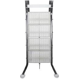 SUMMER FUN Pool-Sicherheitsleiter, Stahl, geeignet für: Beckenhöhe 120 cm