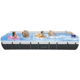 INTEX Pool »Ultra Quadra XTR«, rechteckig, BxLxH: 366 x 732 x 132 cm