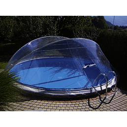 KWAD Poolabdeckung »Cabrio Dom«, BxL: 360 x 490 cm, Aluminium/Polyvinylchlorid