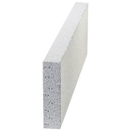 James Hardie Porenbetonstein, 60x20x5 cm, Grau | Weiß