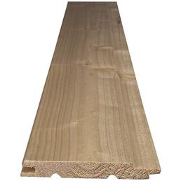 KLENK HOLZ Profilholz, tanne fichte, BxH: 9,6 x 200 cm, Stärke: 12,5 mm