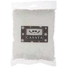 CASAYA Pulverschnee Polyester weiß 100 g