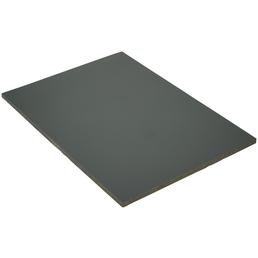 PVC-Platte roh, 2800x1250x6 mm, Anthrazit