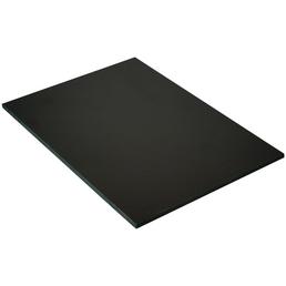 PVC-Platte roh, 2800x1250x6 mm, Dunkelbraun