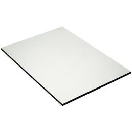 PVC-Platte roh, 2800x1250x6 mm, Weiß
