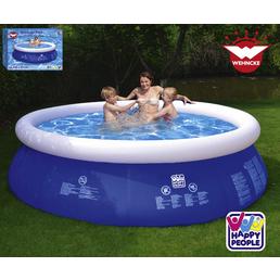 HAPPY PEOPLE Quick-Up Pool Ø x H: 240 cm x 63 cm