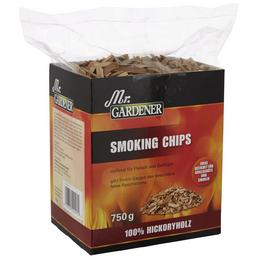 MR. GARDENER Räucherspäne, Hickoryholz, Späne bzw. Chips