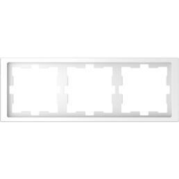 merten Rahmen, D-Life, IP20, 3-fach, lotosweiß, Thermoplast