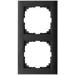 merten Rahmen, M-Pure, IP20, 2-fach, Anthrazit, Thermoplast