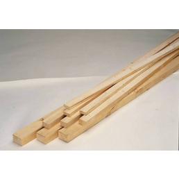 RETTENMEIER Rahmenholz, Fichte / Tanne, BxH: 3,8 x 5,8 cm, rau