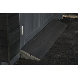 WOLFF FINNHAUS Rampe »WPC-Trend«, Kunststoff/Altholz