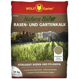 WOLF GARTEN Rasen- und Gartenkalk RG-K 200 10 kg