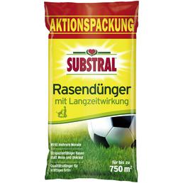 SUBSTRAL® Rasendünger, 15 kg, für 750 m²