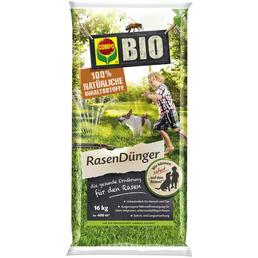 COMPO Rasendünger »Bio«, für 400 m², schützt vor Mangelerscheinungen