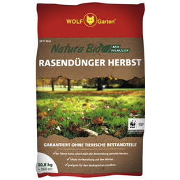 WOLF GARTEN Rasendünger »Bio Herbst NR-H«, 10,8 kg, für 160 m²