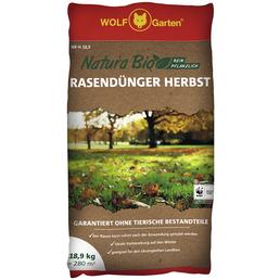 WOLF GARTEN Rasendünger »Bio NR-H«, 18,9 kg, für 280 m²