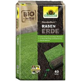 NEUDORFF Rasenerde »NeudoHum«, für die Neuanlage, Nachsaat und Ausbesserung von Rasenflächen, torffrei